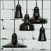 Hanging lamp SHADOW BY BROKIS (collection)