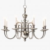 1stdibs 18th Century Style Two Tier Chandelier