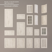 """Facades made of wood. The collection """"Alba"""""""