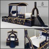 "Savio Firmino Kid's Bed ""Train"""