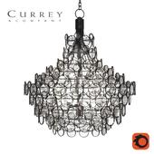 Currey and Company Chandelier Galahad D1000xH1100