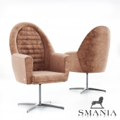GT Low Office Chair from Smania Alcantra