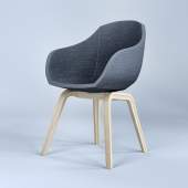 Chair Low by Hay