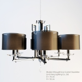 Contemporary Chandeliers With Shade Lin & Yang Lighting Co., Ltd.