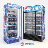 Refrigerator Pepsi.