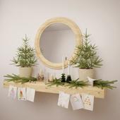 Decorative Christmas set