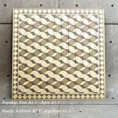 Metlahskoy tiles Winckelmans ArtDeco Ares