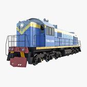 The locomotive TEM-2