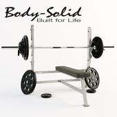 Скамья для жима Body Solid