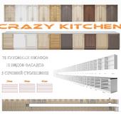 Set of modern kitchen fronts - Crazy Kitchen