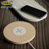 Беспроводные зарядки IKEA NORDMARKE