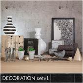 Decoration set 1