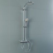 GROHE Euphoria XXL System 210 Shower system with thermostat for wall mounting