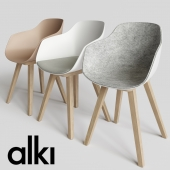 KUSKOA BI | Chair set