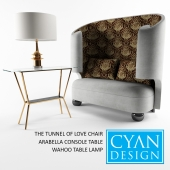 CYAN DESIGN THE TUNNEL OF LOVE CHAIR