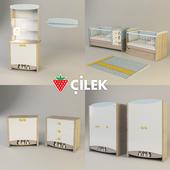 Комплект детской мебели Cilek Blue Peny