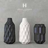 Decor set Kelly Hoppen 5 / set of vases