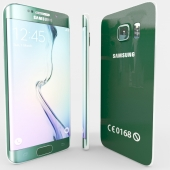 Samsung Galaxy S6edge green