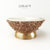 CRAVT PRECIOUS ROCK BOWL