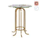 Kew Glass Top Side Table