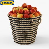 IKEA Shopping MAFFENS with apples