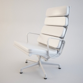 Eames Soft Pad Chair HERMAN MILLER