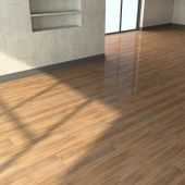 Laminate flooring with high-resolution textures from Eger.