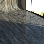 Material parquet BLACK SILVER by Kahrs