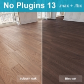 Parquet 13 (2 species, without the use of plug-ins)