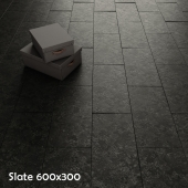 Slate in two colors