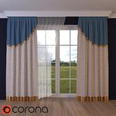 ajar curtain