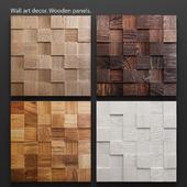 Art Wood panels.