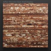 Jeffan Wooden Bark Wall