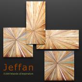 Jeffan. Vintage Square Wall Decor. Set.