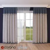Ajar curtain -2