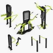 Outdoor gym equipments