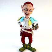 "Figurine-lamp ""Dwarf"""
