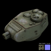 tank tower  t 34 85