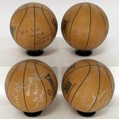 Basketballs autographed
