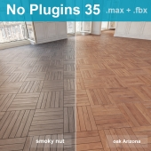 Parquet 35 (2 species, without the use of plug-ins)