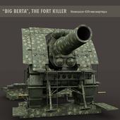 Большая Берта (Big Berta) 420-мм мортира