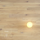 Chalet wooden floor by DuChateau