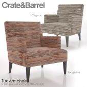 Crate and Barrel Tux Armchair