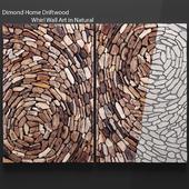Dimond Home Driftwood Whirl Wall Art