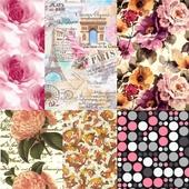Texture of textiles, wallpaper