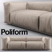 Poliform Bolton Sofa Short