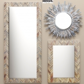 a set of mirrors RENWIL