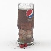 A glass of Pepsi
