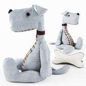 Toy - dog & bone
