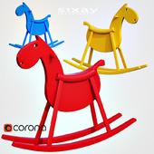 sixay furniture PARIPA   Rocking Horse